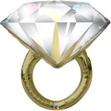 Кольцо с бриллиантом / Фигура