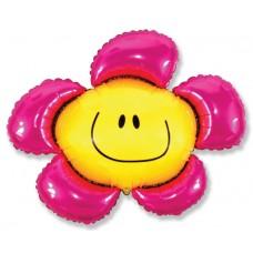 Цветочек (солнечная улыбка) фуксия / Flower