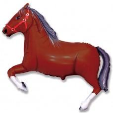 Лошадь (тёмно-коричневая) / Horse