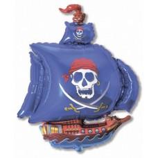 Пиратский корабль (синий) / Pirate Ship