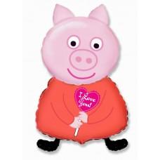 Поросенок Я тебя люблю / Piglet
