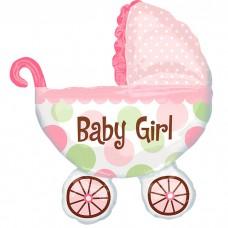 Коляска детская Девочка / Baby Buggy Girl