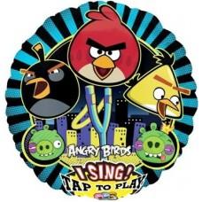 Энгри бердс / Angry Birds Шар музыкальный