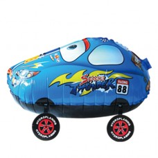 Гоночная машина Синяя / 3D Racing Car Blue