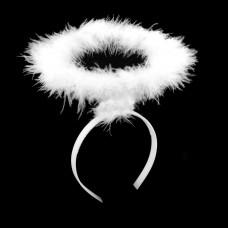 Ободок «Нимб» Белый