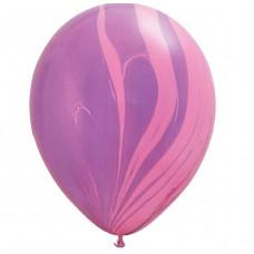 Супер Агат Розовый-фиолетовый