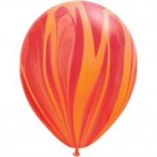 Супер Агат Красно-Оранжевый