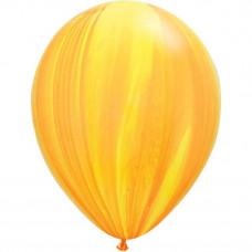Супер Агат Желтый-оранжевый