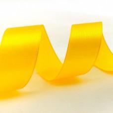 Лента Атлас Темно-Желтый Series