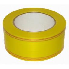 Лента Жёлтая с Золотой полоской