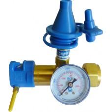 Редуктор Классическая насадка с измерителем давления, с плавным нажатием