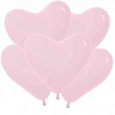 Сердце Розовый, Пастель / Bubble Gum Pink Series