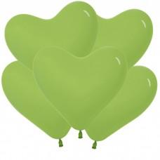 Сердце Светло-Зелёный, Пастель / Key Lime Series