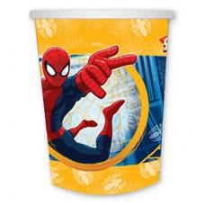 Стаканы бумажные Человек-Паук