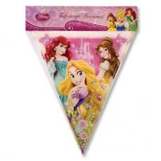 Гирлянда-вымпел Disney Принцессы 360см Series