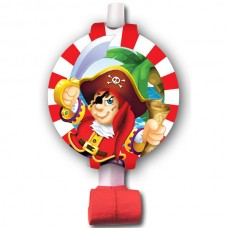 Язычок-гудок с карточкой Веселый Пират
