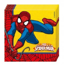 """Салфетки """"Человек-Паук. Супер сила"""" / Ultimate Spiderman Power"""