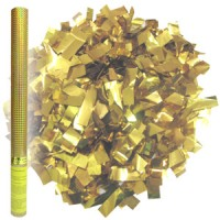 Золотое конфетти Пневмохлопушка, 60см