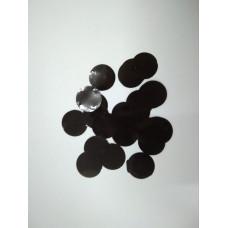Конфетти Круги, Черный
