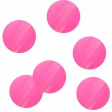 """Конфетти """"Круги розовые"""" бумажные невоспламеняющиеся"""