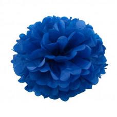Помпон бумажный Синий