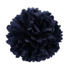 Помпон бумажный черныйм Series