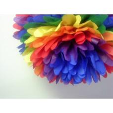 Помпон Бумажный Цветной Series