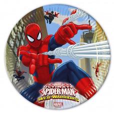 "Тарелки ""Человек-Паук"" / Ultimate Spiderman Web Warriors"