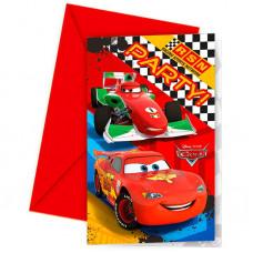 """Приглашения """"Тачки. Формула"""" / Cars Formula"""