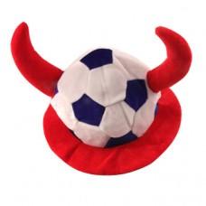 """Головной убор """"Футбольный мяч"""" Триколор"""
