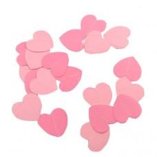 """Гирлянда """"Сердца Микс"""" Розовый и Нежно-розовый"""