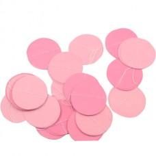 """Гирлянда """"Круги Микс"""" Розовый и Нежно-розовый"""