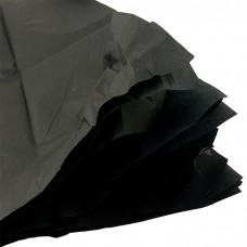 Бумага упаковочная тишью Черная / листы